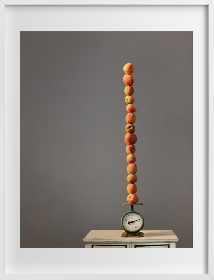 """""""stacked peaches"""" at minted.com"""