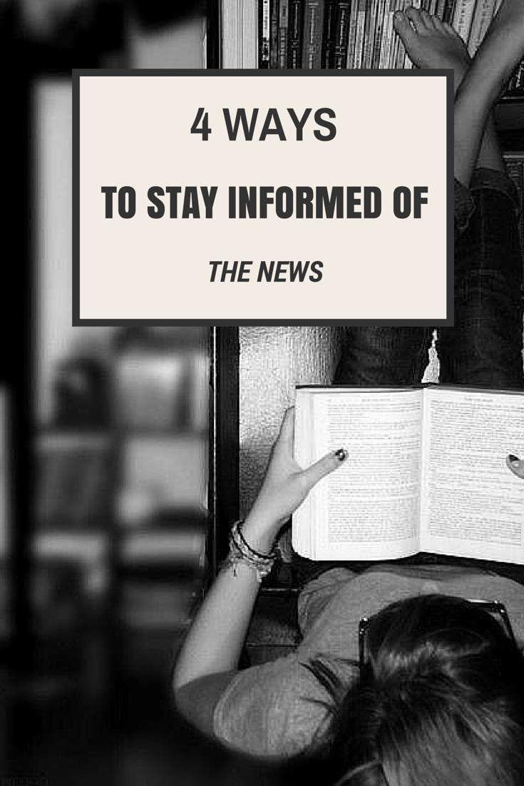 4 ways to get ahead of the news {thelilyhoneylife}
